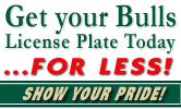 USF Alumni BULLS Plate