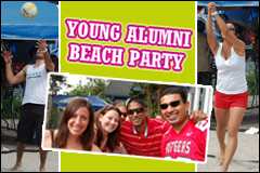 Young Alumni Beach Party