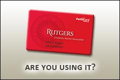 Rutgers Alumni Card